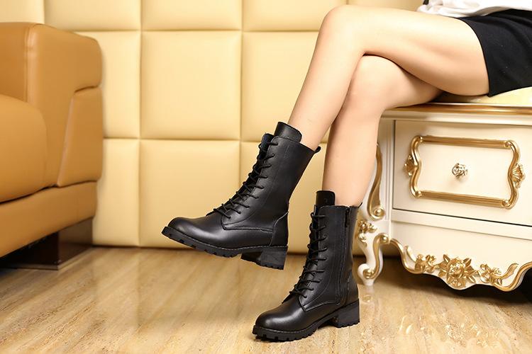 38ee772ddae botas planas con cordones mujer