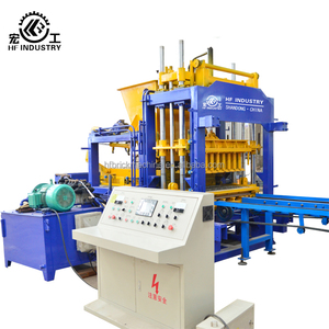 QT5-15 eps foam block making machine / concrete hollow blocks machine price