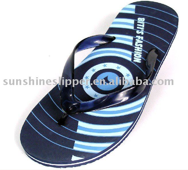 PVC arabic man sandal slippers