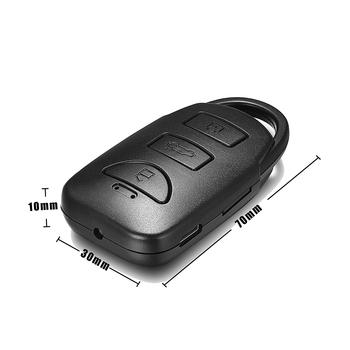 Bad Nano Versteckte Kamera Mini Autoschlüssel Micro Spycam Mit Voice ...