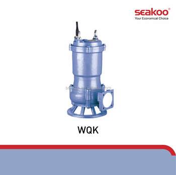 WQK SUBMERSIBLE SEWAGE PUMPS