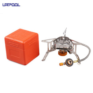 Ultralight foldable gas stove camping stove mini hiking gas stove for outdoor camping