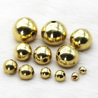 High quality fishing brass beads solid brass beads (XYA075)