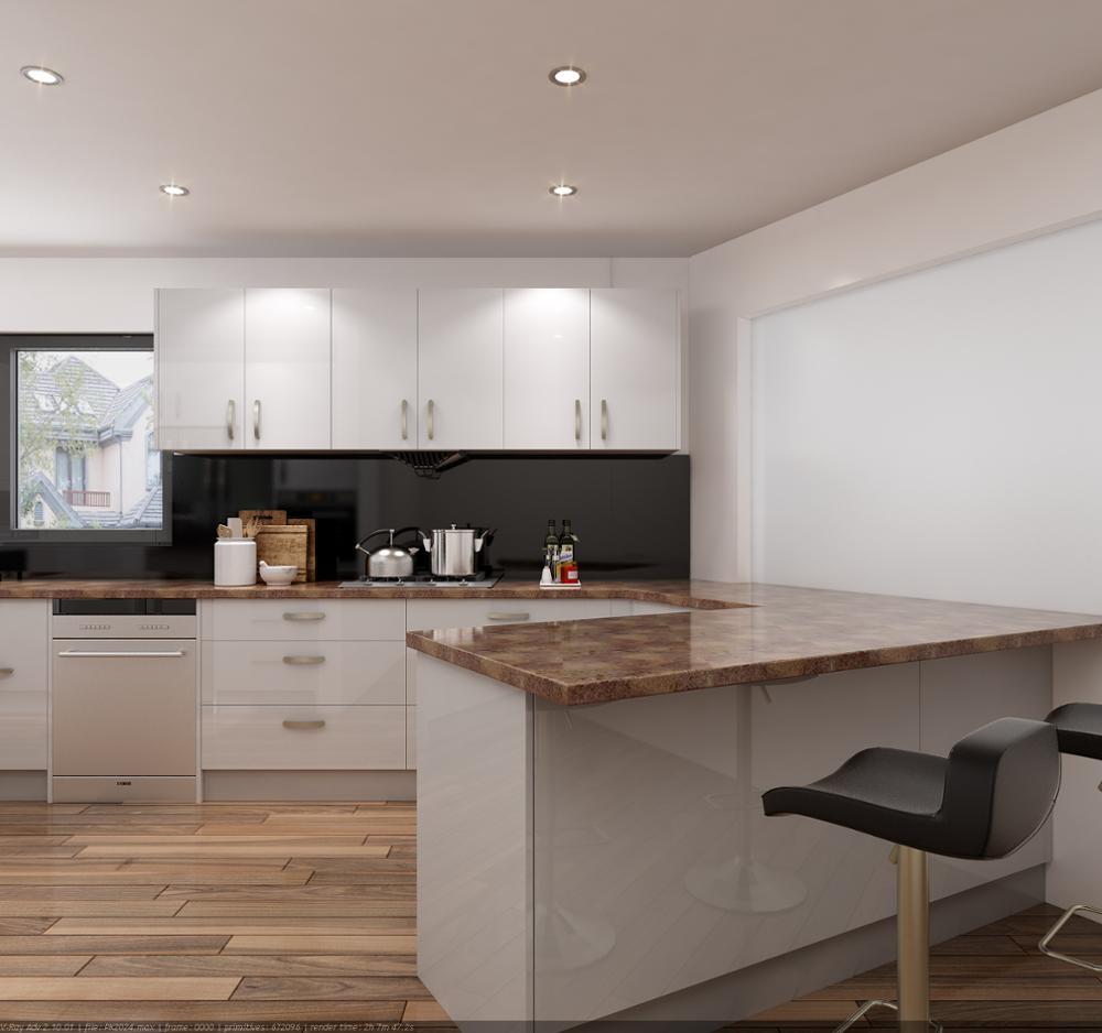 2018 New Design Mdf Melamine Panel Uv Finish Hot Selling Small Kitchen  Cabinets - Buy Small Kitchen Design,Modern Kitchen,Kitchens Uv Product on  ...