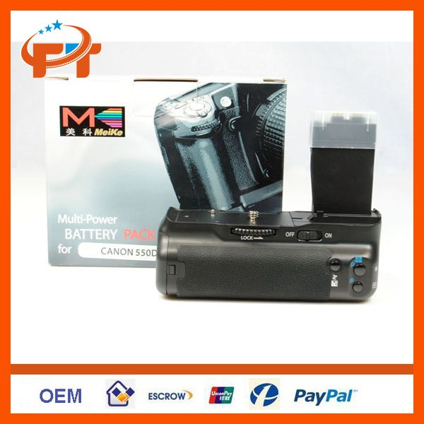Meike Battery Grip for Canon 650D T4i 600D T3i X5 550D T2i X4 BG-E8