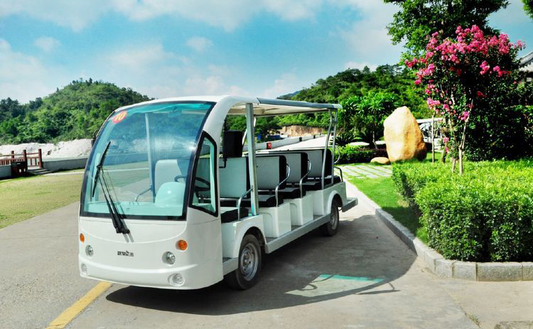 New cheap electric shuttle bus train electric sightseeing for Golf cart garage door prices