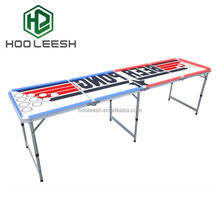 8FT Easy Folding Professional Cool LED Beer Pong Table