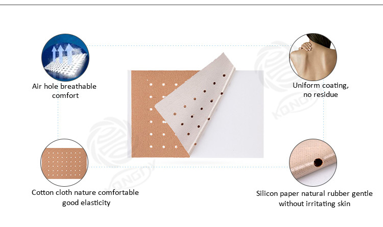 Hot sale Magnetic Therapy Arthritis pain relief patch Reduce capsicum Plaster deep heat patches