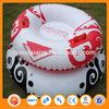 cold-resistant pvc winter sports inflatable snow tube plastic snow sledge