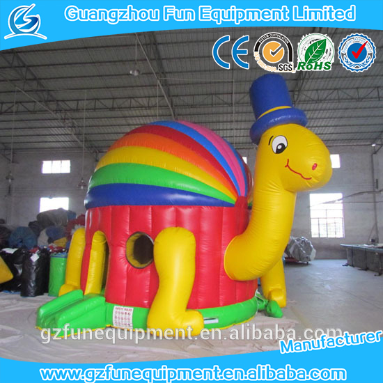 Little Turtle Inflatable Bouncy Jumping Bouncer Combo for kids