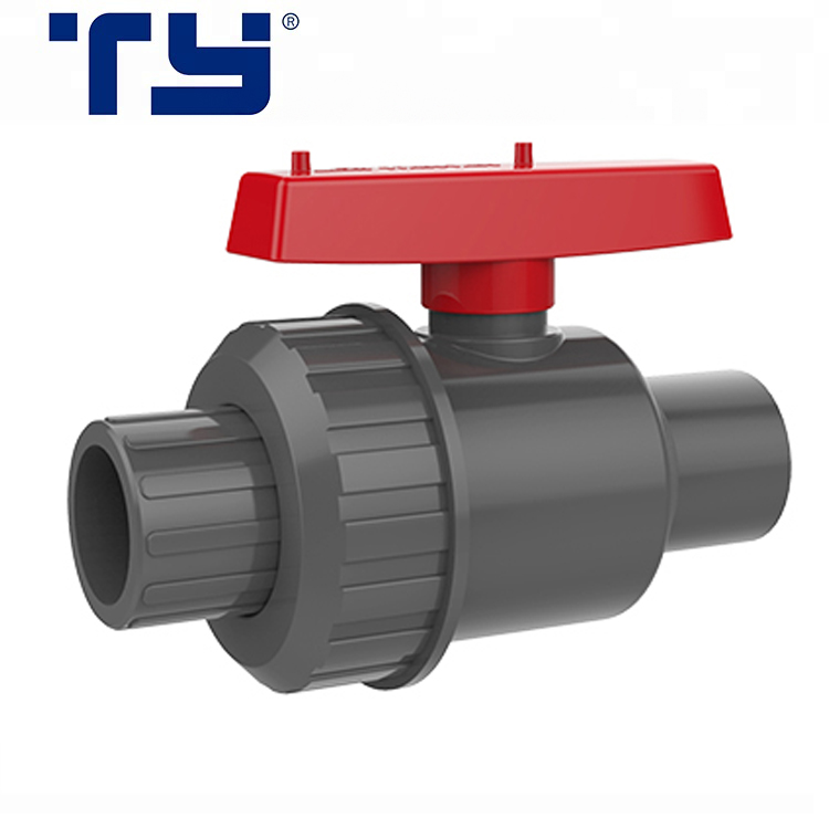 PVC Pipe Fittings Double Union Ball Valve Gate Valve