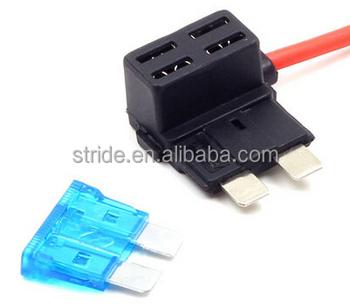 12v car add a circuit fuse tap adapter mini atm apm blade fuse holder buy add a circuitl,atm apm blade fuse holder,low profile 12v product on  fuse tap adapter mini atm apm