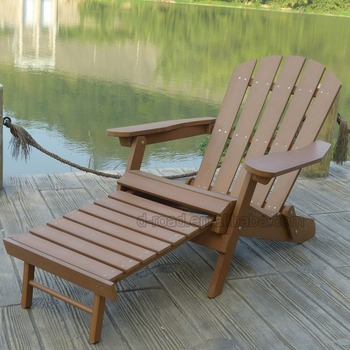 Outdoor Simple Plastic Reclining Adirondack Chair Buy