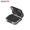 Small black ABS hearing aid storage case made in China
