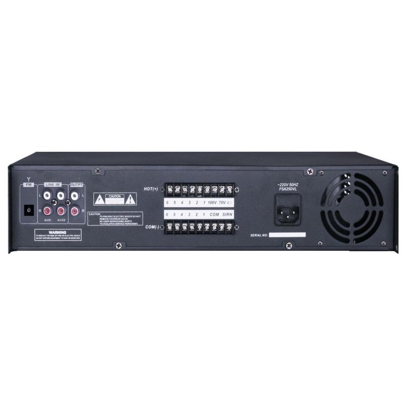 Ap 6z240 commercial audio amplifier 6 zones mixer power amplifier ap 6z240 commercial audio amplifier 6 zones mixer power amplifier for public address system 240w sciox Choice Image