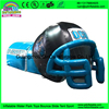 Giant outdoor used inflatable sports tunnel inflatable football helmet tunnel tent