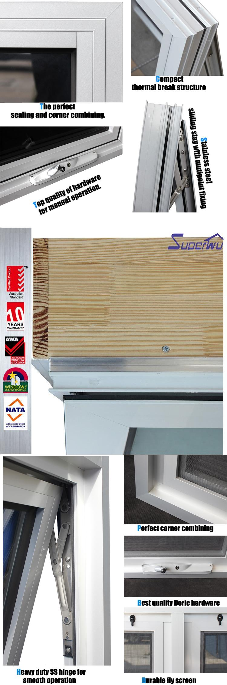 High quality factory sample design window grills anti-theft guards single glazed With Best Service