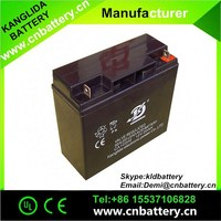 12 volt deep cycle 20Ah batteries