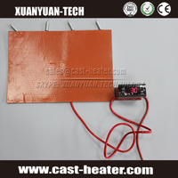 battery powered heating pad silicone rubber heater