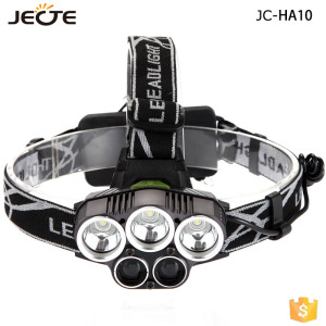 50w Headlight Waterproof 20000Lm led USB Rechargeable Headlamp 5 mode High Power LED Head lamp Torch Camping Fishing