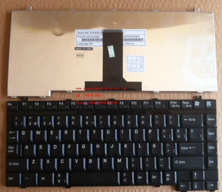 NEW Toshiba Spanish Tecra Z40 Z40-A Z40-B keyboard pointer BACKLIT Teclado