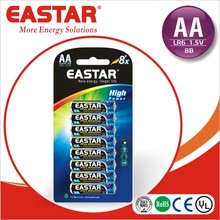alkaline dry battery lr6 1.5V aaa rechargeable battery