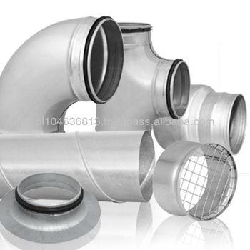 Ventilation Ductwork/fittings - Buy Ventilation Ducts And  Fitting,Ventilation Duct,T-piece Product on Alibaba com