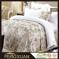 High quality elephant print hotel style bedspread