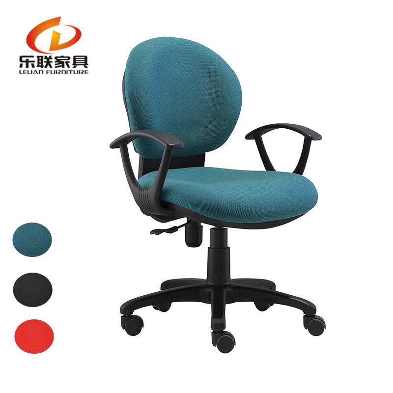 Simple swivel chair office furniture staff chair/ collage teacher chair