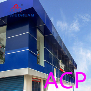 high quality acp design cladding sheet price in kerala for project