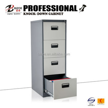 Legal Size 4 Drawer Steel Filing Cabinet For F4 And A4 File Folder ...