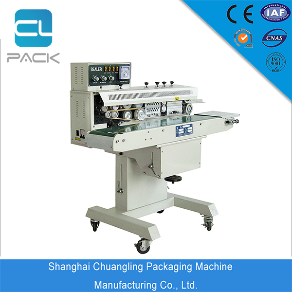 FRM-1100W coding continuous sealer used for any sealing materials