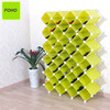 Hot sale plastic riddling wine rack with large capacity FH-AL09600