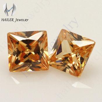 Princess Cut 7x7mm Semi Precious Decorative Jewelry Stones Buy