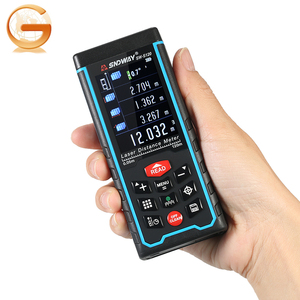 120m laser distance meter angle measurement device with camera