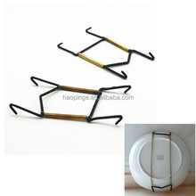 Wire Spring Plate Display Hanger/Adjustable Spring Plate hanger holder /Plate Holder Clip Clip