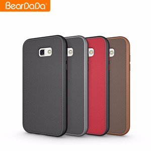 Hot Sale Leather Skin for samsung a7 2017 handphone case cover