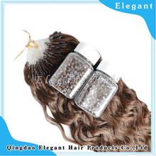100% Virgin Malaysian Hair Micro-Ring Hair Extension