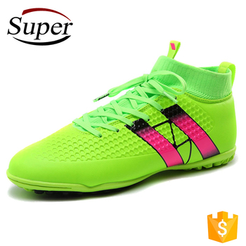 reputable site ff973 d9bd3 High Top Men Cheap Soccer Indoor Shoes