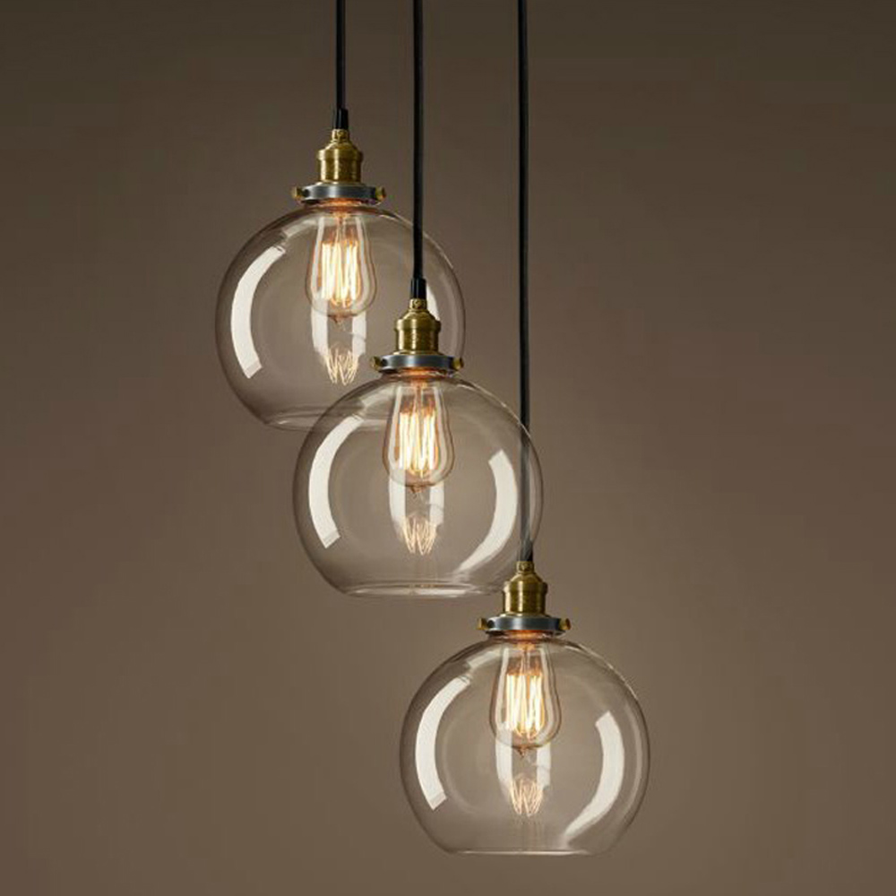 Northern Europe hand blown hanging glass balls chandelier glass pendant <strong>light</strong>