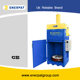 UK brand China price 44 gallon steel barrel crusher/scrap drum baler compactor machine for hot sale with CE
