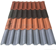 New Innovative Colorful Lightweight Affordable Roofing Products AluZinc 0.5mm Thickness Stone Coated Metal Steel Sheets Dubai