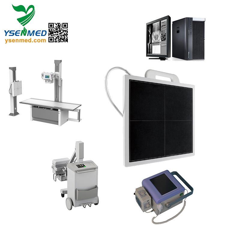 Advanced X Ray Radiation Flat Panel Detector with Multi-modes/ Digital X-ray Flat Panel Detector DR Wireless New Metal Steel