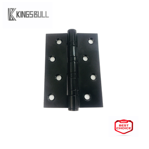 Visible round radius hinge square 4 inch black stainless steel hinges