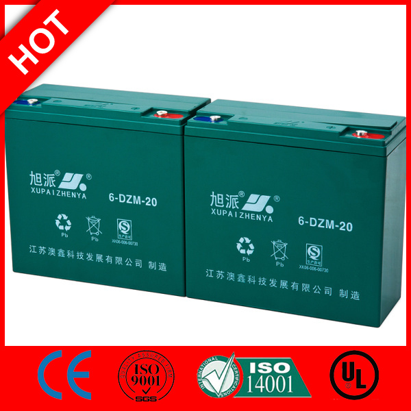CE drained lead acid battery scrap Maintennance Free 12v20ah UPS battery