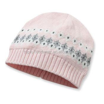 wholesale custom children winter beanies hats beanie baby knitted hat hot  sale 3dc63451551