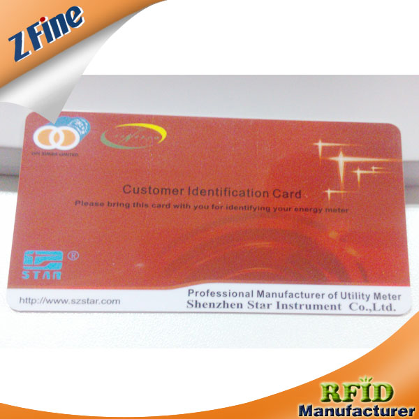 Wholesale Glossy PVC card chips for gift certificates with UV lighting