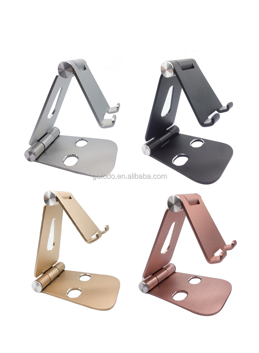 Amazon hot sell multiple folding mobile phone pad laptop charging holder