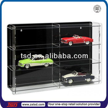Tsda Hot Sale Counter Top Acrylic Car Model Display Stand - Car show display stand for sale