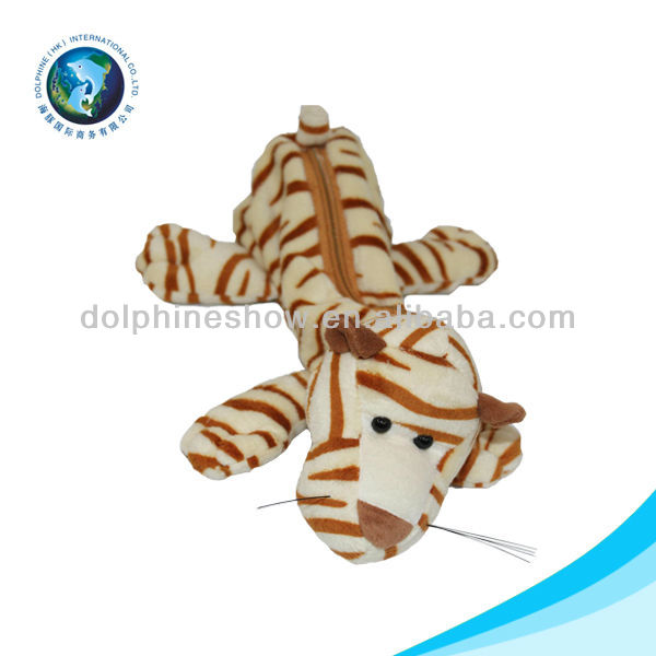 2016 New Products Fancy animal shaped plush toy pencil case toys for kids